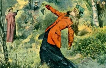 Беспощадные дамские дуэли на Руси: Как Екатерина Великая привнесла свою лепту в развитие этого явления