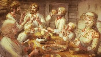 Отчего на Руси горбушки ели лишь девушки, а хлеб резал хозяин дома: Традиции застолья, дошедшие до наших дней