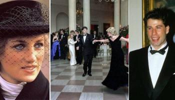 Как супруга президента Рейгана исполнила мечтание принцессы Дианы: Незабываемый вальс с Джоном Траволтой