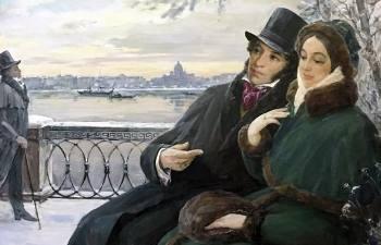 Как вдова Пушкина была после гибели поэта, и Как сложилась жизнь их совместных детей