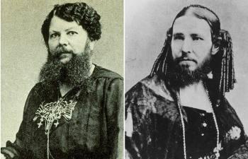 Борода для дамы - проклятие или благо: Кем были 9 самых знаменитых в истории бородатых женщин