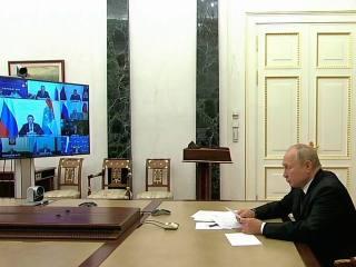 Заседание Российского организационного комитета «Победа»