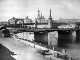 Как выглядела Москва незадолго в половине 19 века
