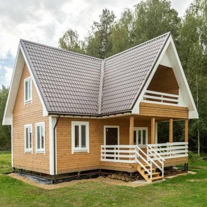Стройка, интерьеры и проекты деревянных домов из бруса: превосходство над кирпичом.