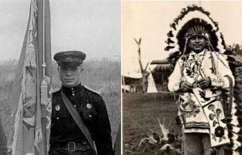 Как геройский советский летчик стал индейским вождем: Факты и домыслы о «канадском Доценко»