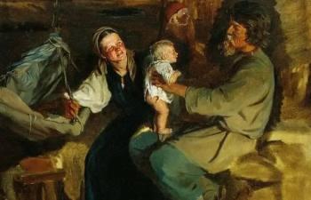 Как в древность на Руси мужчины участвовали в родах и какие суеверия и традиции были с этим связаны