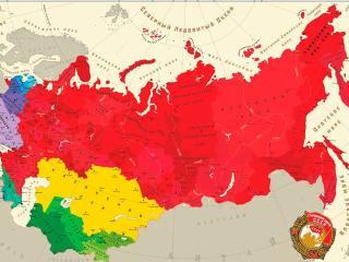 Земли, переданные советским республикам из состава России
